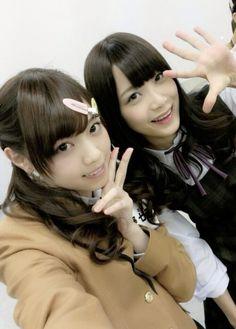 乃木坂46 (nogizaka46)  Nishino Nanase (西野七瀬)  Fukagawa Mai (深川麻衣)
