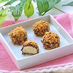 Çikolatalı ve Mısır Gevrekli Kurabiye - Pratik Ev Yemekleri
