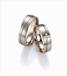 TT 7mm Two-Tone Gold Stripe Stainless Steel Weddng Comfort Band Ring R107