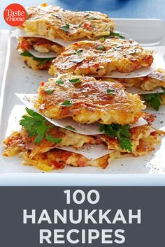 100 Hanukkah Recipes to Celebrate the Season Hanukkah Recipes, Hanukkah Food, Jewish Recipes, Hannukah, Main Dishes, Side Dishes, How To Cook Polenta, Unique Recipes, Ethnic Recipes