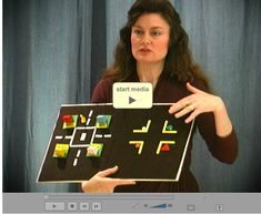 Video of tactile skills presentation by Karen Poppe of APH outlining the steps needed to develop an understanding of tactile graphics