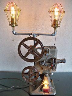 Vintage Movie Projector Lamp