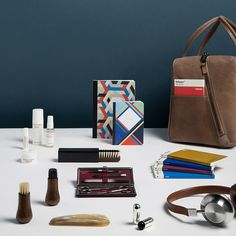 The discerning jetsetter. Requisites for the well travelled, the well groomed and the well heeled.  Shop it now at www.store.wallpaper.com