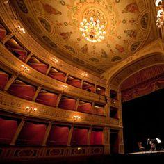Sang Here. Teatro Caio Melisso, Spoleto, Italy.