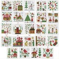 Herrschners® Christmas Mini Ornaments Counted Cross-Stitch Kit