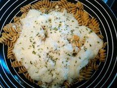 Cauli-Fredo! (Alfredo Sauce made with Cauliflower instead of cream and butter)...Healthy!