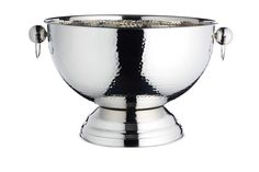 Kitchencraft Barcraft Metal Champagne Cooler/Punch Bowl, 37 X 25 Cm Christmas