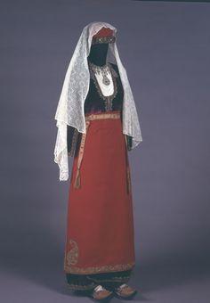 Костюм женский. Конец XIX века, Кавказ