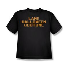 Lame Halloween Costume Youth T-Shirt