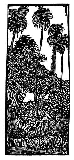 Borges en la isla Martín García (1913). Alfredo Benavidez Bedoya.