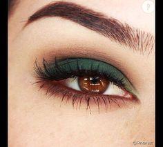 Idées maquillage pour les yeux marrons. Plus