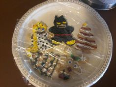 Turn Christmas cookies in to your favorite characters!