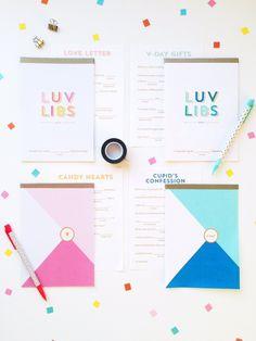 [FREE PRINTABLE] DIY Valentine's Mad Libs Notebooks