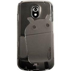 Smoke - Cruzer Lite Androidified A2 High Gloss TPU Soft Gel Skin Case - For Samsung Galaxy Nexus (SCH-i515 & GT-i9250)