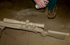 How to Camouflage Paint A Rifle - Sniper's Hide - Scout