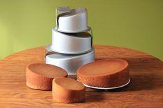 Mad Dadder Topsy Turvy Round Cake Pan Set by Kitchychicks, $39.95