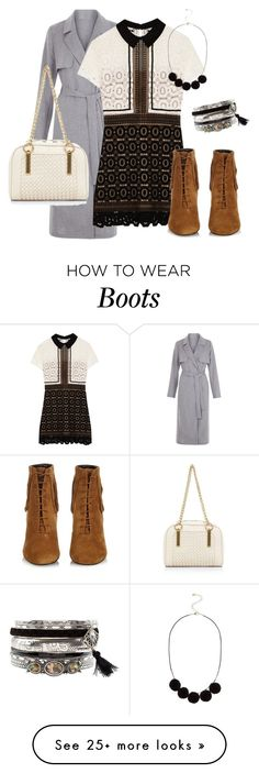 """""""Saturday Fashion"""" by emma-oloughlin on Polyvore featuring self-portrait and Yves Saint Laurent"""