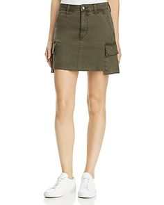 Joe's Jeans Army Cargo Skirt in Forest Floor Women - Bloomingdale's Work Wardrobe, Joes Jeans, Forest Floor, Casual Shorts, Autumn Fashion, Street Wear, Mini Skirts, Street Style, Fashion Outfits