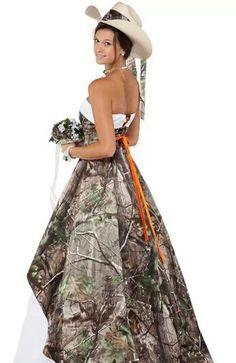Hunting Wedding Dresses