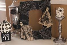 Spooky Halloween Frame