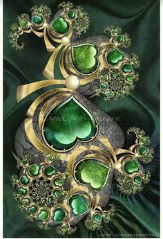 Infinite Green Heart