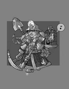Dwarf Miner by cwalton73.deviantart.com on @DeviantArt