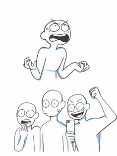 art bases draw the squad & art bases squad ; art bases draw the squad Drawing Meme, Drawing Prompt, Funny Drawings, Drawing Poses, Drawing Sketches, Drawing Tips, Draw The Squad, Funny Poses, Anime Poses Reference