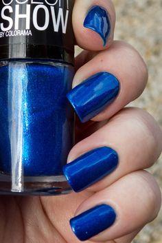 Maybelline Color Show OCEAN BLUE