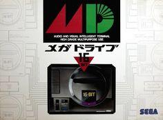 Japanese Megadrive  [ Presstart ] atari . snes . megadrive . playstation . xbox . ps3 . supernintendo . videogame . soccer . retro . classic . games . personalize . virtual