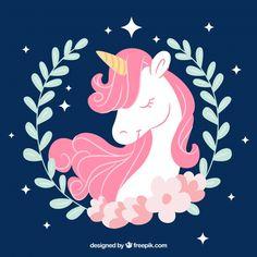 Pink unicorn.