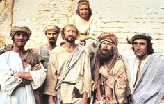 """MONTY PYTHON'S LIFE OF BRIAN (1979)  Brian's mother: 'He's not the Messiah. He's a very naughty boy!""""      The Python team's spear-sharp satire of religious intolerance failed the tolerance test with scores of religious groups...but proved classy comedy fare for the not-so-easily offended.    The late Graham Chapman played Brian, an unfortunate whose birth in a stable next to Jesus would mean a lifetime's inconvenience being recognised as the Messiah."""