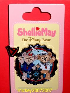 Hong Kong Disney Pin ShellieMay & Duffy Sailor - HKDL