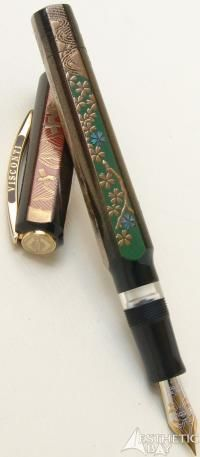 Visconti Limited Edition 4 Seasons Maki-e Fountain Pen.