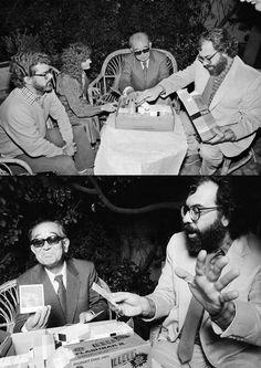 George Lucas, Akira Kurosawa and Francis Ford Coppola | Rare and beautiful celebrity photos