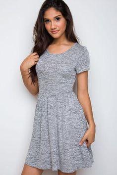 Tinsley Sweatshirt Dress - Burgundy
