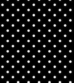 black/white cotton