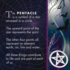 #Wiccan The Pentacle