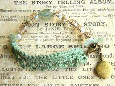 Wildflower meadow bracelet