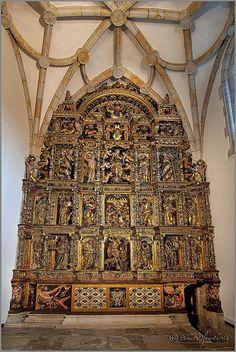 Retablo de la capilla,Universidad de Oñati Guipúzcoa  Spain