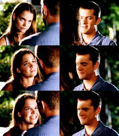 One of my favorite scenes from Season 4 of Dawson's Creek with Joey and Pacey.