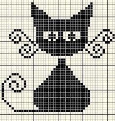 cross stitch cat 2