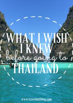 Important things I wish I knew before going to Thailand! #Thailand #Asia #Travel