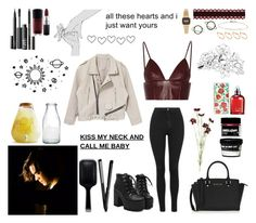 """""""all these hearts and i just want yours"""" by lu-fonsecaa ❤ liked on Polyvore featuring T By Alexander Wang, MICHAEL Michael Kors, GHD, Sur La Table, Stefanie Sheehan Jewelry, OKA, Cacharel, Topshop, MAC Cosmetics and NARS Cosmetics"""