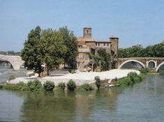 Isola Tiberina - Ezio's hideout in Roma (Assassin's Creed Brotherhood)