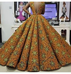 16 Fascinating Ankara Dress Styles to Make You Stand Out - Fashion&Beauty - operanewsapp African Prom Dresses, African Wedding Dress, African Fashion Ankara, Latest African Fashion Dresses, African Print Fashion, African Prints, African Attire, African Wear, Maxi Dresses