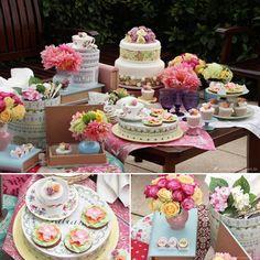 mesa candy color, mesa posta, festa, chá da tarde, tea party, flower, candy color party