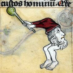 don't know what's that, but it has a mace…'The Maastricht Hours', Liège 14th centuryBritish Library, Stowe 17, fol. 202r