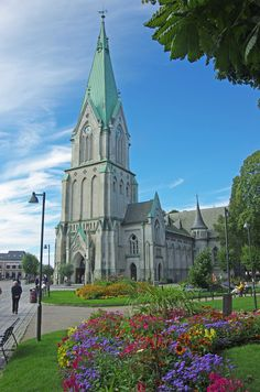 Kristiansand Cathedral, Norway ….Stay cheap and comfortable on your stopover in Oslo: www.airbnb.com/rooms/1036219?guests=2&s=ja99 and https://www.airbnb.com/rooms/6808361