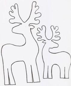 renos en madera para decorar