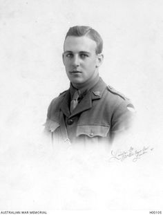 Corporal Eric Bernard Freeman 41st Battalion of Maryborough Qld.  A student prior to his enlistment on 8 December 1915 he embarked from Sydney on 18 May 1916 on board HMAT Demosthenes. (AWM)